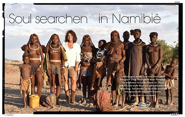 Inez van Oord wrote a beautiful 12 page feature about our expedition in Namibia for Happinez Magazine (txt is in Dutch, but the images are not!). The PDF is here (you need to copy paste in your browser because Insta won't allow active linking): http://thijsheslenfeld.com/s/Reizen-Namibie.pdf  For next year's expeditions I'll be crisscrossing the remotest parts of Namibia from March til the end of May and you can join me for a week or more. All information is on my website www.thijsheslenfeld.com under the 'Namibia' button.