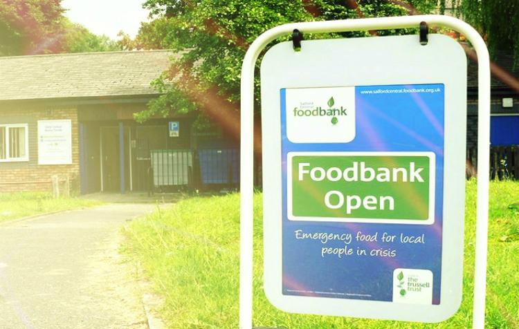 Foodbank is open