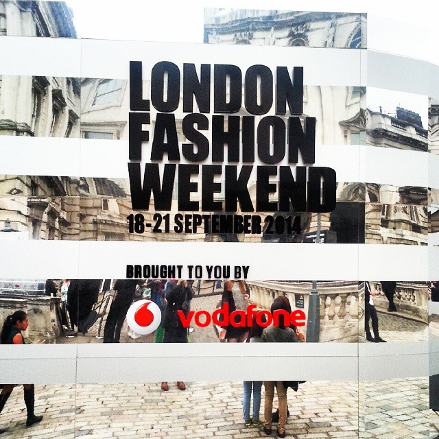 YesBoy's at #London Fashion Weekend today! #LFW
