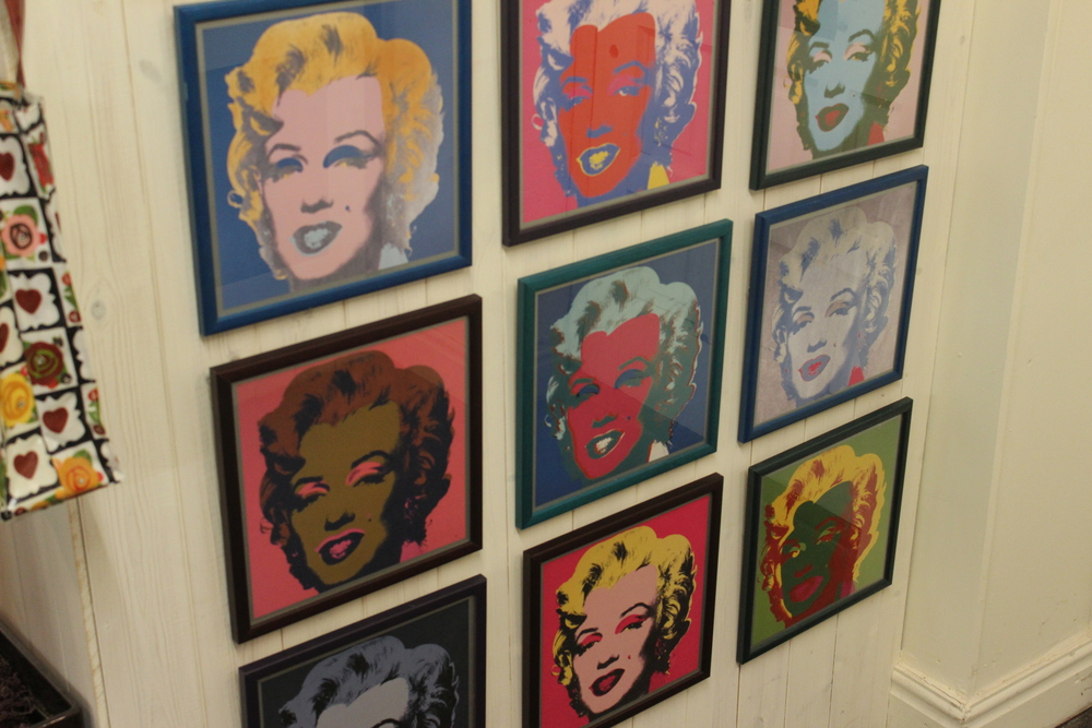 Andy Warhol,  Marilyn Monroe . various unsigned prints