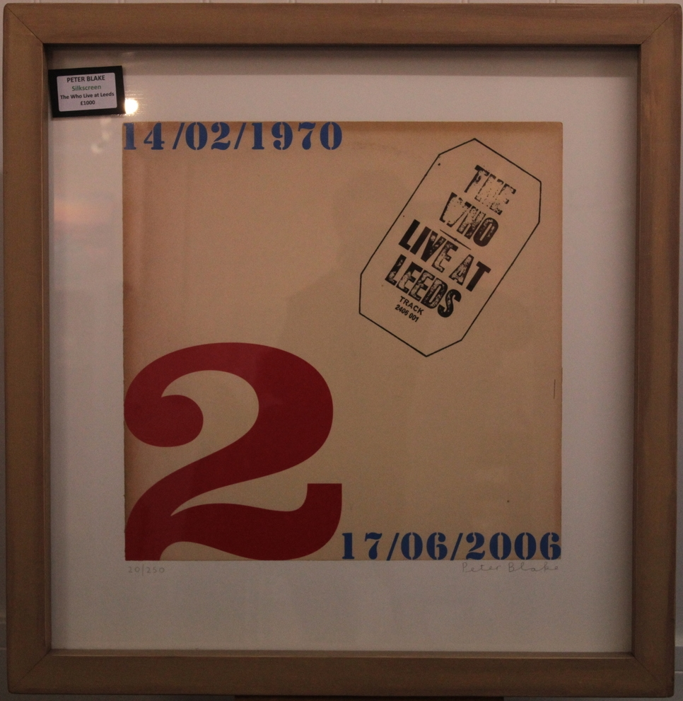 The Who: Live at Leeds - limited edition silkscreen by Peter Blake