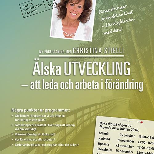 Må BRA i förändringsarbetet! Välkommen till Malmö, Karlstad, Uppsala eller Stockholm.