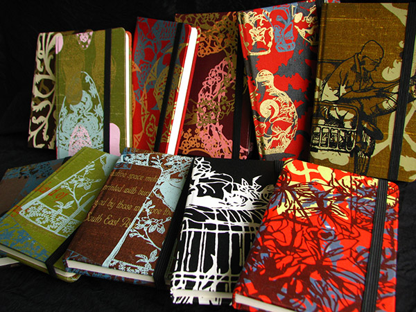 100% Silk Notebooks