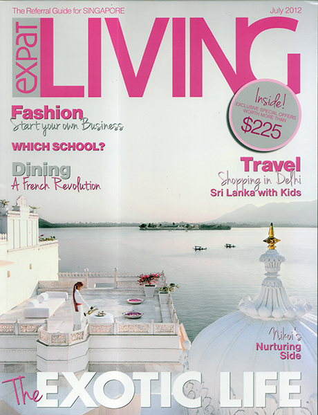 Expat Living July 2012