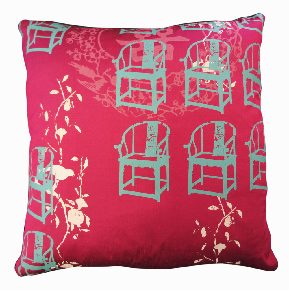 Cushion Grandmas Antique Chair Deep Magenta.JPG