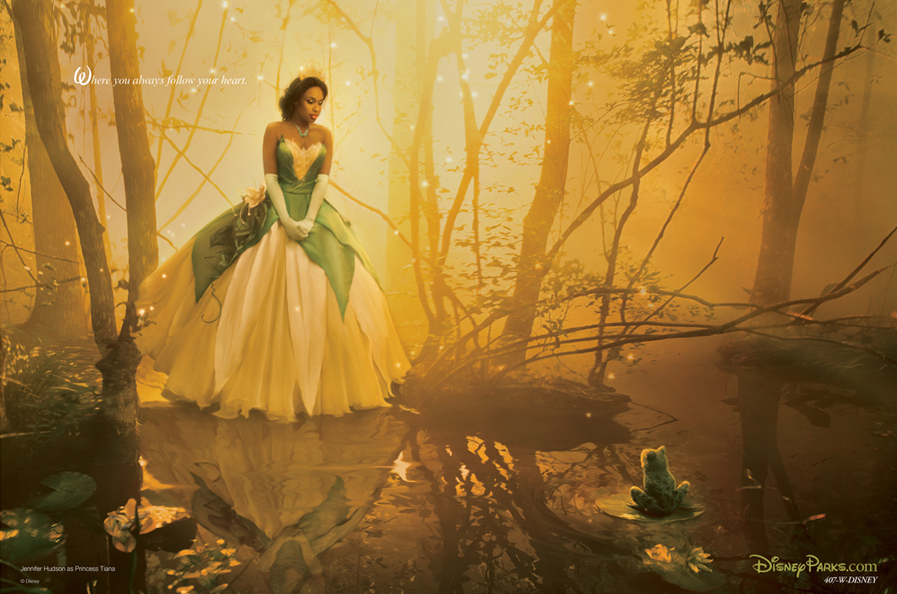 Disney Dream Series Portrait   Photographed by Annie Leibovitz  Set Design by Mary Howard Studio