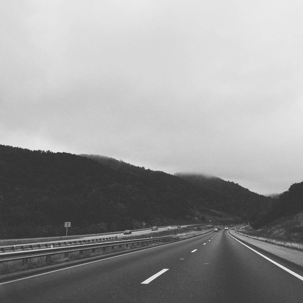 We took a road trip. -