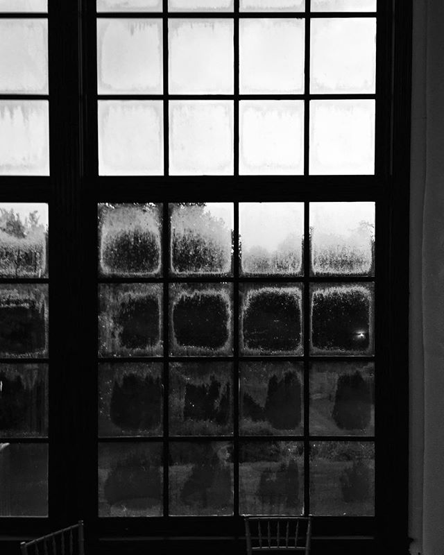 Windows and rain. #blackandwhitephotography #window #rain