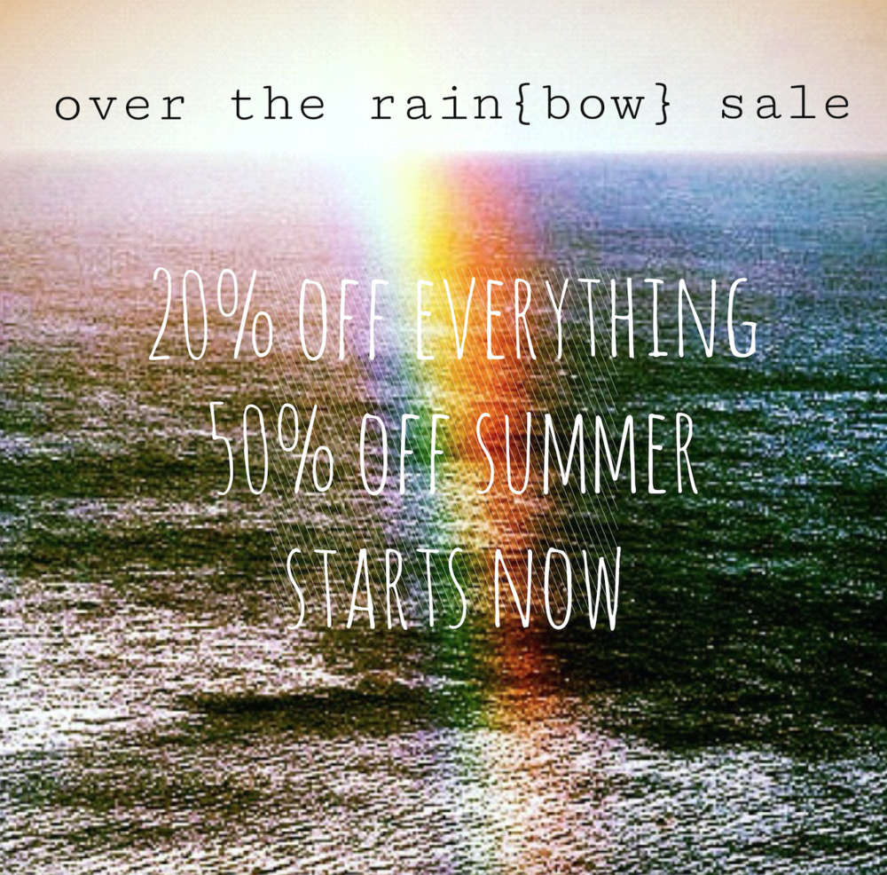 over the rainbow sale
