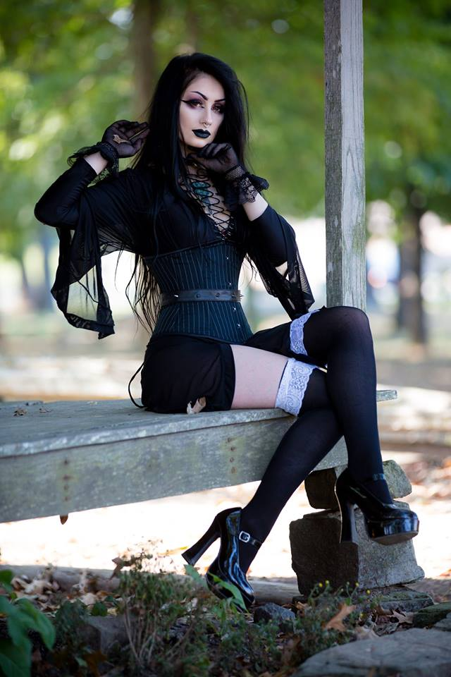 Model:  TheBlackMetalBarbie  FB: @ZoieCampbellOfficial  Photography:  Luke Guinn Photography