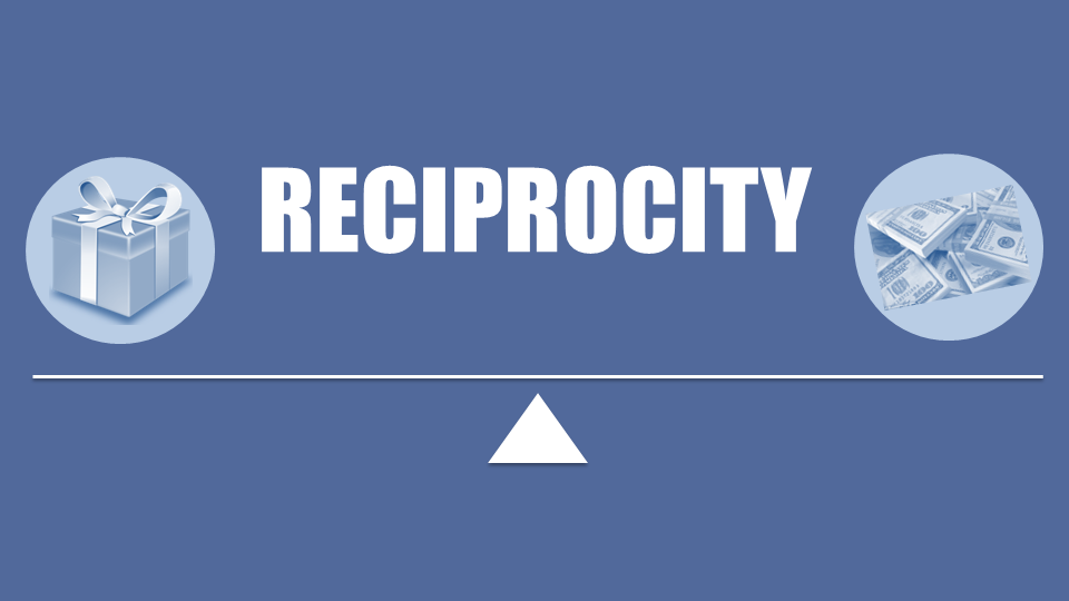 Reciprocity - Methods of Influence for Persuasive Presentations (1/6) —  Active Presence