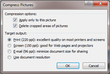How to compress images in PowerPoint