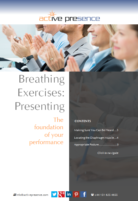 breathing exercizes presenting free advice
