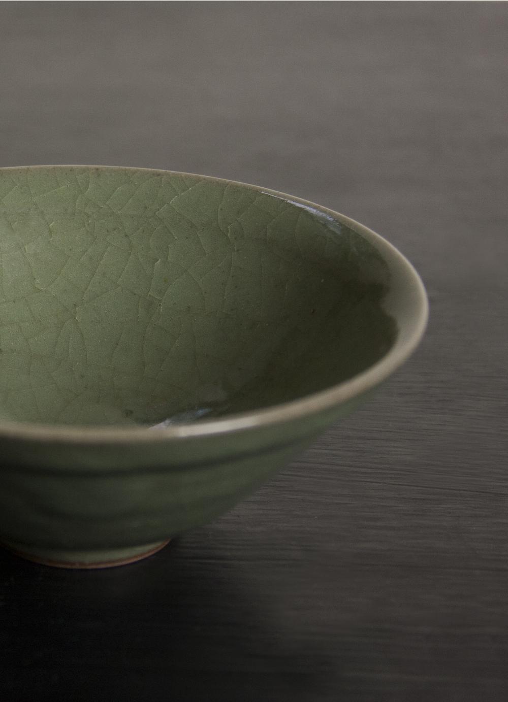 30 years old Matcha bowl with Kannyu.