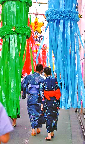 Tanabata festival in Tokyo