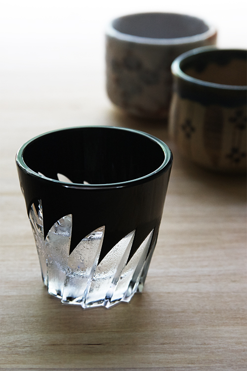 "Choko, or Guinomi for sake is generally designed very small. This makes friends drinking Sake together refill each other's glass more often as a ""good friend"" ritual."