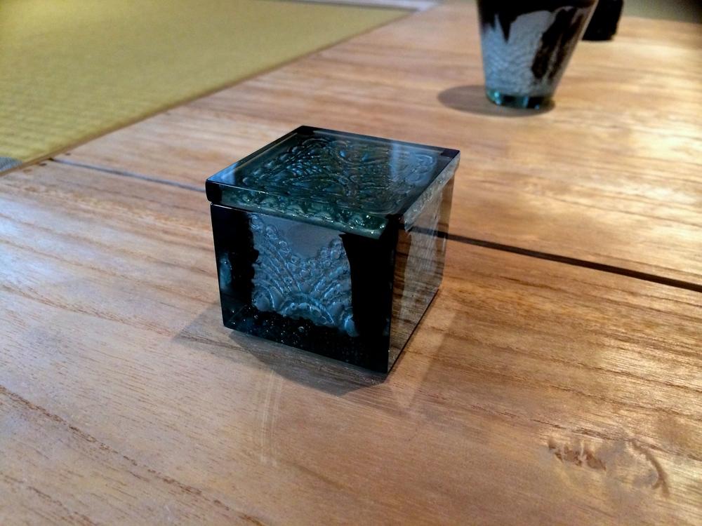 Glass work by Satomi Den