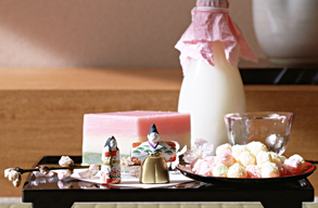 Hinamatsuri food offering.jpg