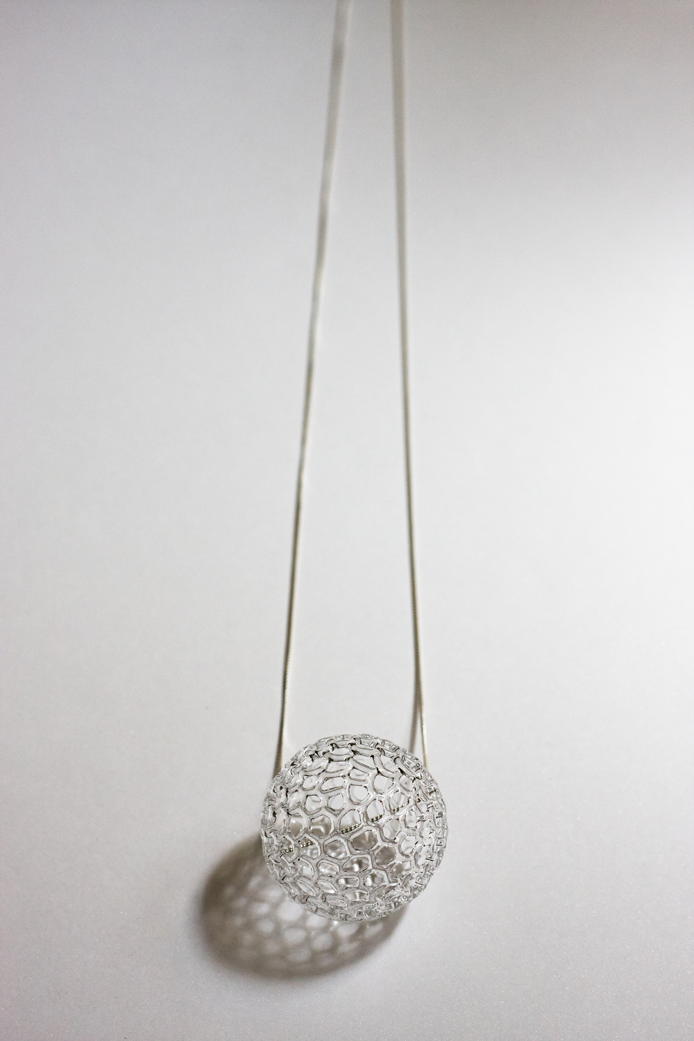 Bonbon necklace (silver) by Harrys