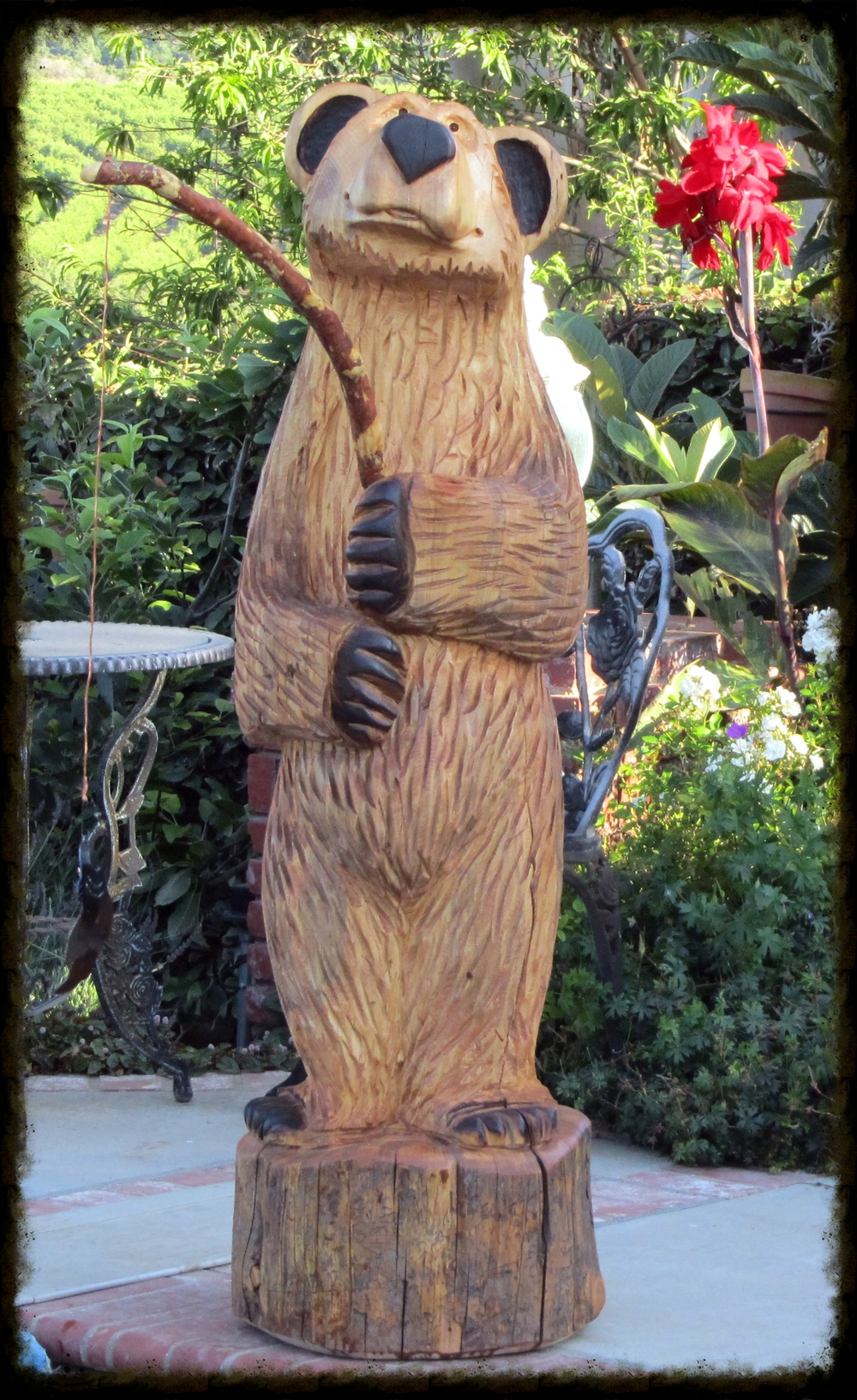 5 ft Fishing Bear