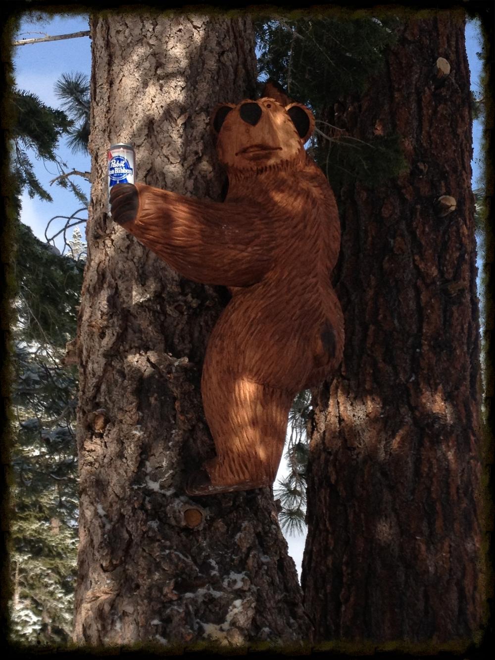4 ft Climbing Bear