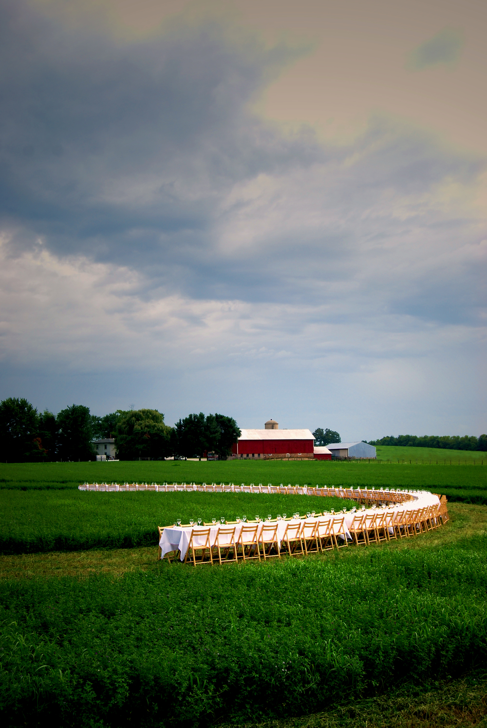 Outstanding in the Field, Courtesy of Jeremy Fenske,  Berkshire Farm and Table