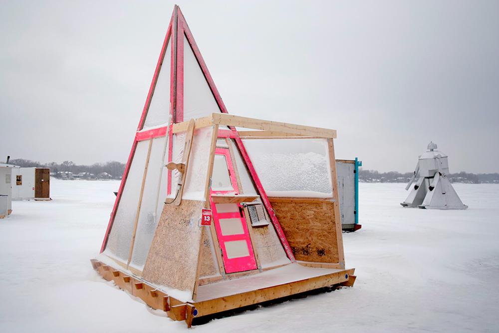 Art Shanty Projects, Image courtesy of Mike Haeg on flickr