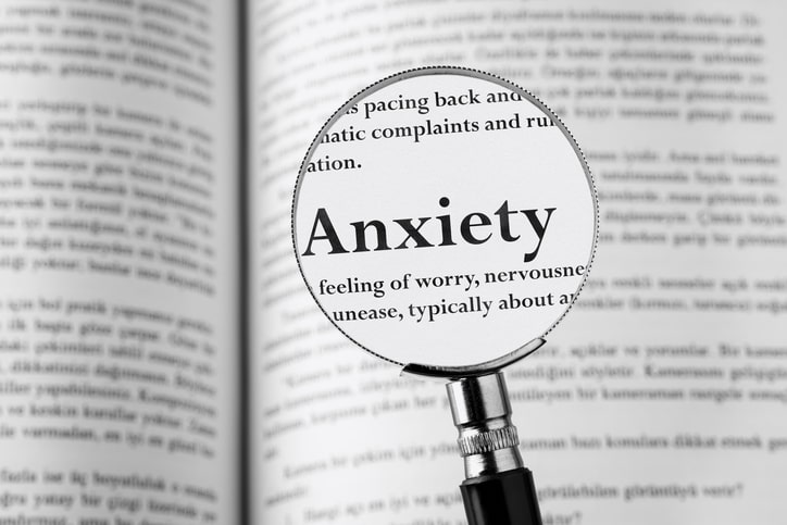 anxiety dictionary entry