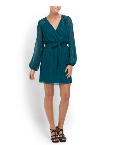 ERIN BY ERIN FETHERSTON Wrap Dress