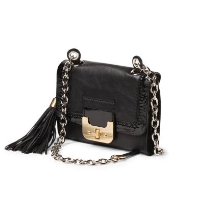 DIANE VON FURSTENBERG Leather Mini Harper Clutch