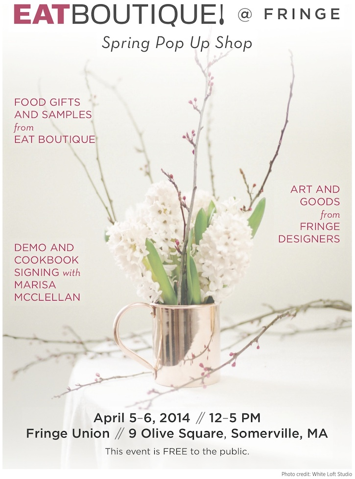 eat boutique spring pop up
