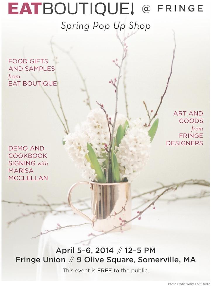 eat boutique spring pop up