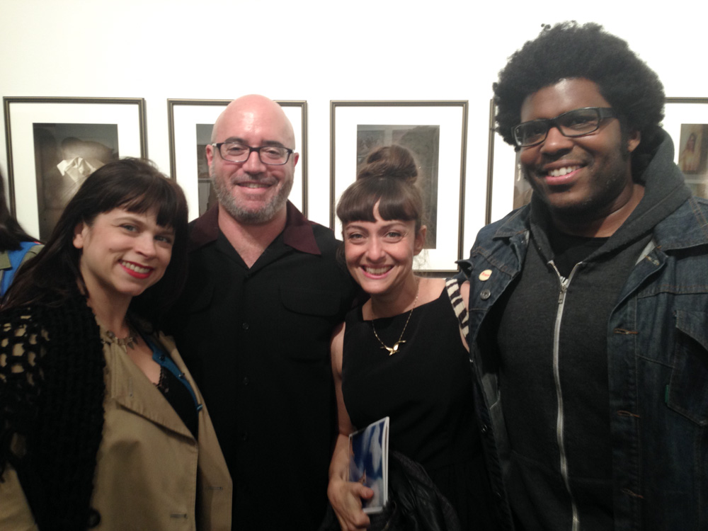 Sarah Garcea, Robert Israel, me, Dave Byrd