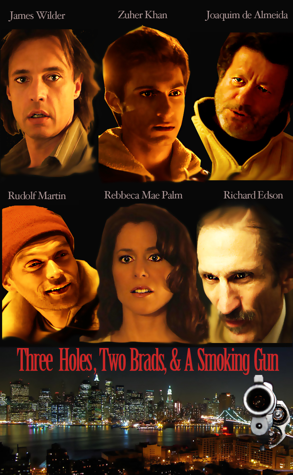 Three Holes, Two Brads and a Smoking Gun official poster 1