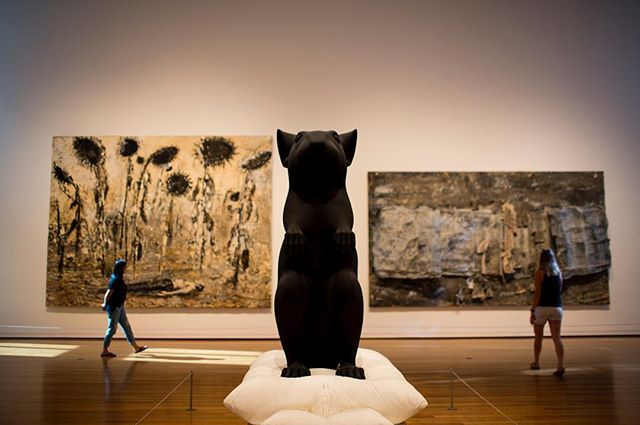 Mann und Maus, Katharina Fritsch // #SeattleArtMuseum #Latergram