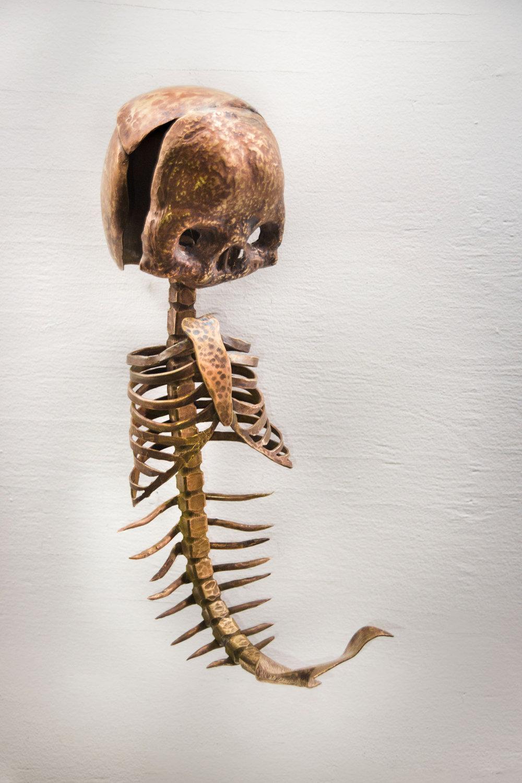 Syreni Puerulus (Infant Mermaid Skeleton)