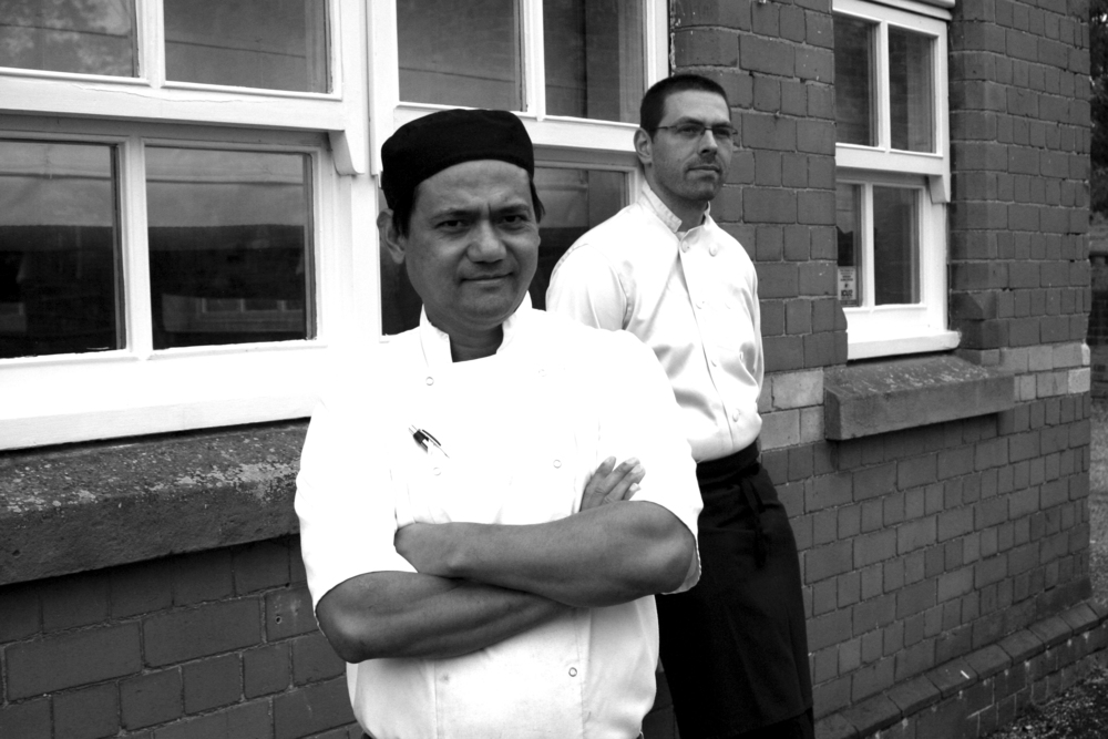 Image: Forefront, Head Chef, Daniel Sung and background Sous Chef, Michael Finbar–Smith.