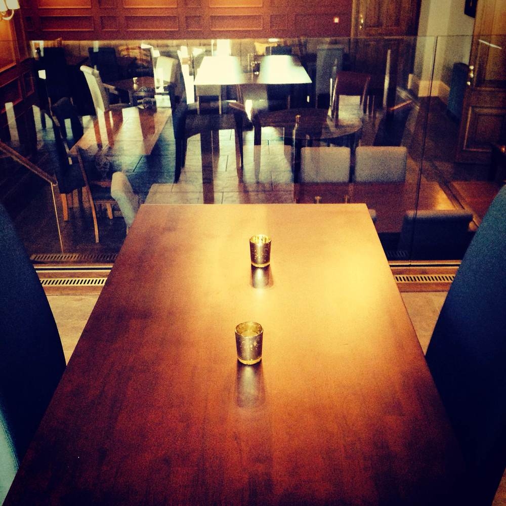Our new restaurant space; new menus and plenty of space for large group bookings.
