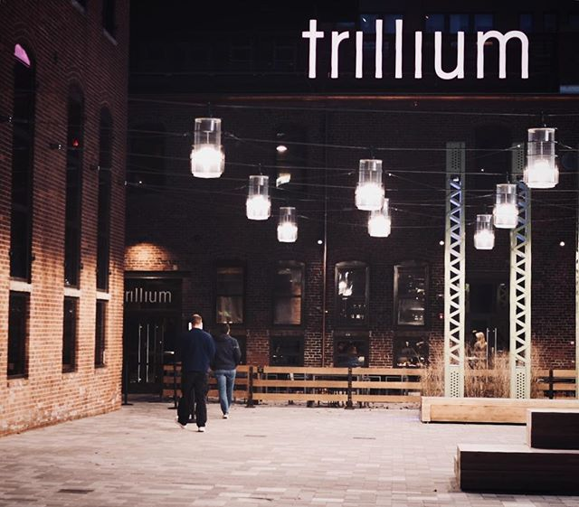Nice to be back in Boston for a few days 💕✨🍺 At @trilliumbrewing's new seaport brewery