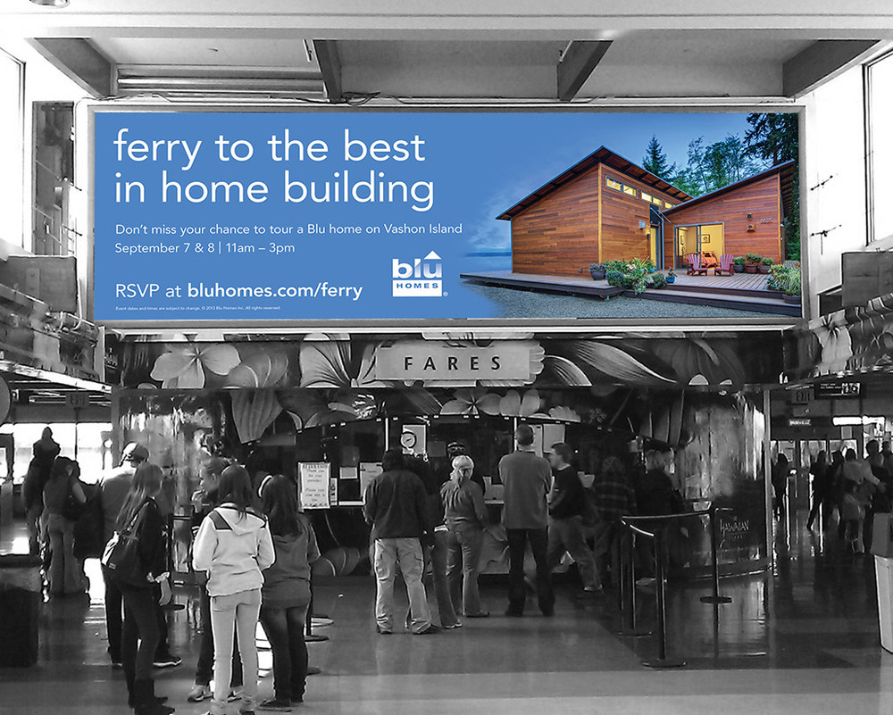 Seattle Ferry Terminal – Open House promotion