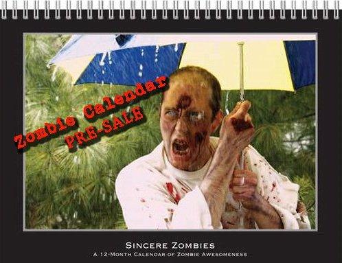 Zombie Calendar