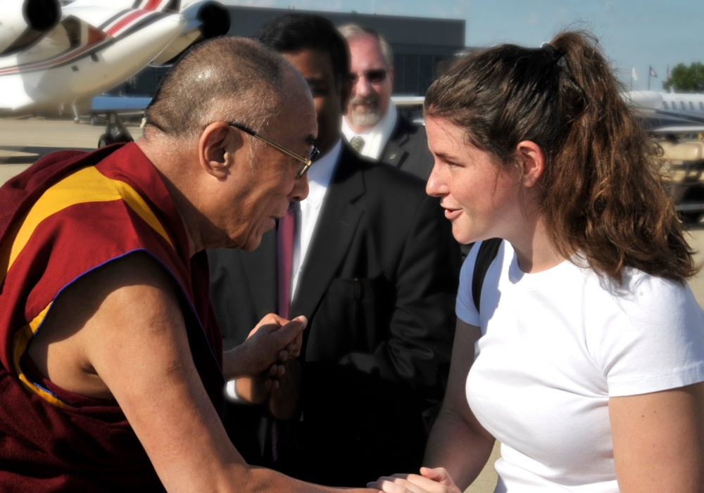 Meeting the Dalai Lama after his 2011 visit to Washington, DC for the Kalachakra Initiation. Photo courtesy of ICT/Sonam Zoksang.