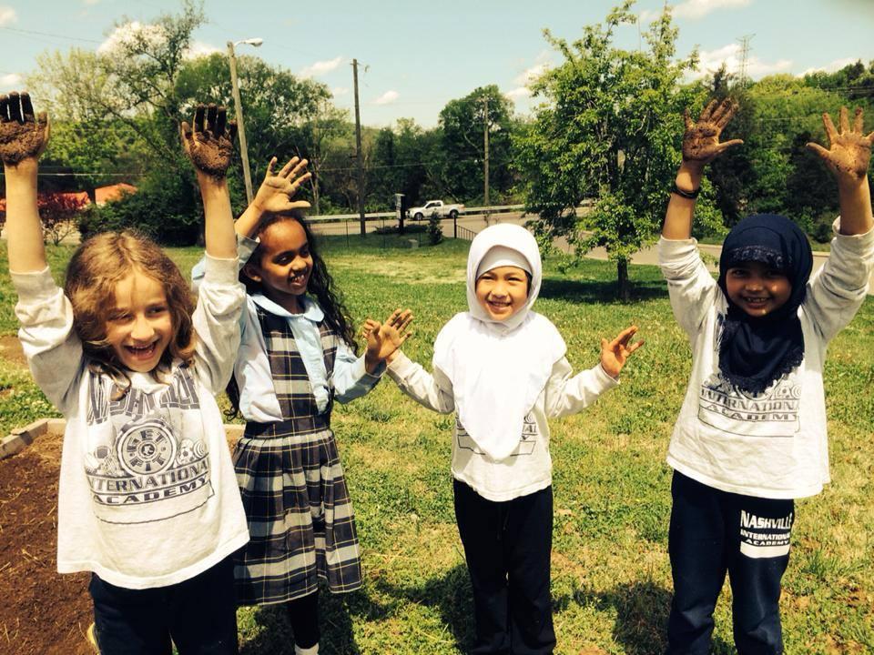 Happy young gardeners :)