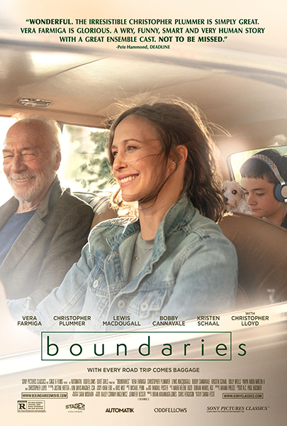 Boundaries - Production Designer