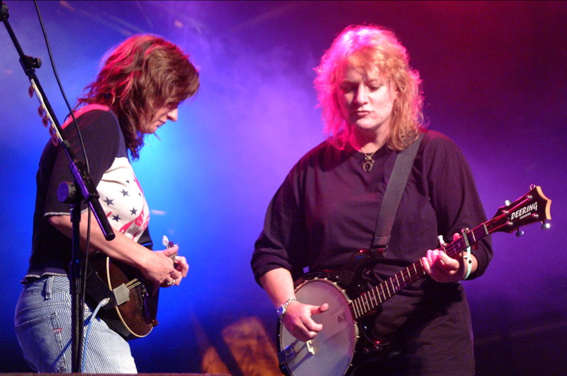 """Indigo Girls' biography - Indigogirls.com """"This is music of the past, present, and future — a boundlessness earned and not bestowed [....] music composed across time, not just in time."""" Read more here."""