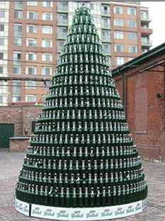 No, Grolsch will not be included in the 12 beers. But the tree is awesome.