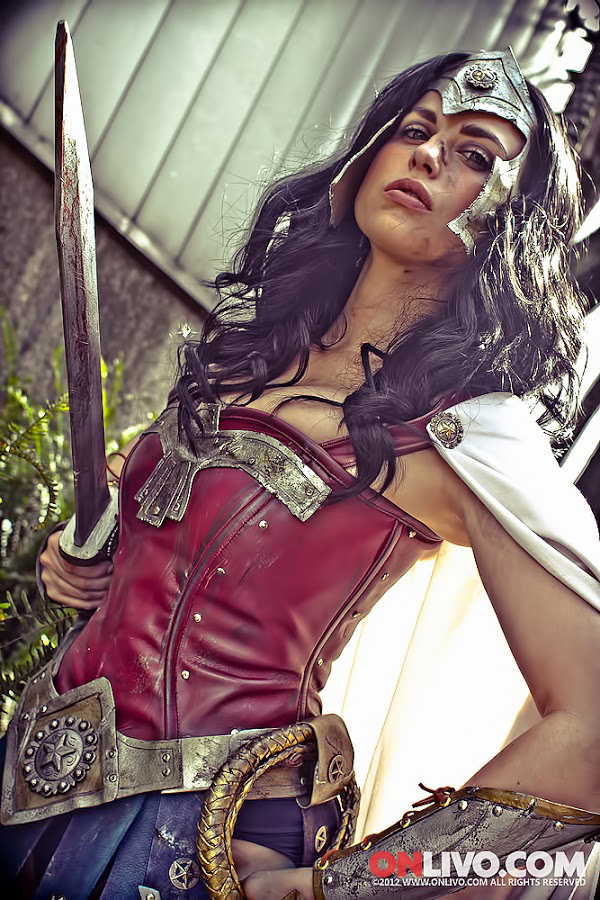 Meagan Marie is Wonder Woman