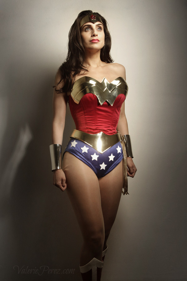 Valerie Perez is Wonder Woman— Photo By Cute Monster Child