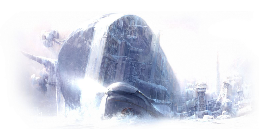 Concept Art for the Post Apocalyptic Sci-Fi Film SNOWPIERCER ...