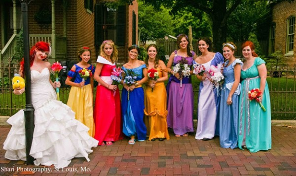Disney Princess Themed Wedding — GeekTyrant